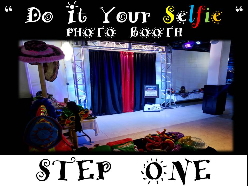 Photo booth service rental bookings winnipeg manitoba do it your selfie step one set the stage for photo booth fun a decorative and theatrical backdrop with a clean and classy set up solutioingenieria Image collections