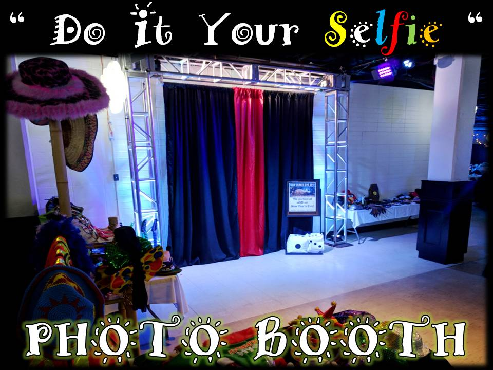 Photo booth service rental bookings winnipeg manitoba 3 4 tables full dress up props signs truss backdrop props up lighting photo booth lighting solutioingenieria Images